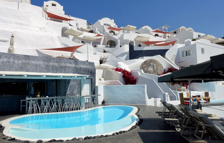 Andronis Boutique Hotel in Santorini.
