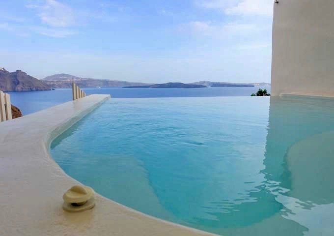 The romantic Secrecy Villa has a private outdoor jacuzzi.
