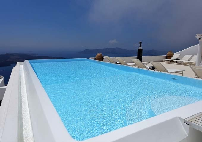 Tsitouras Collections Hotel in Santorini.