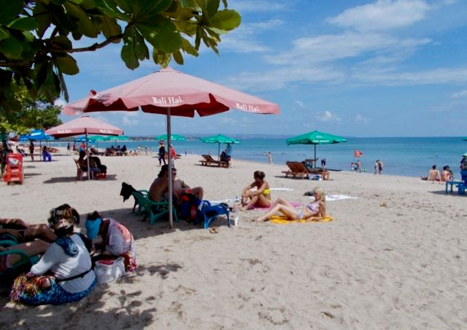 Kuta Beach is just a few minutes from the hotel.