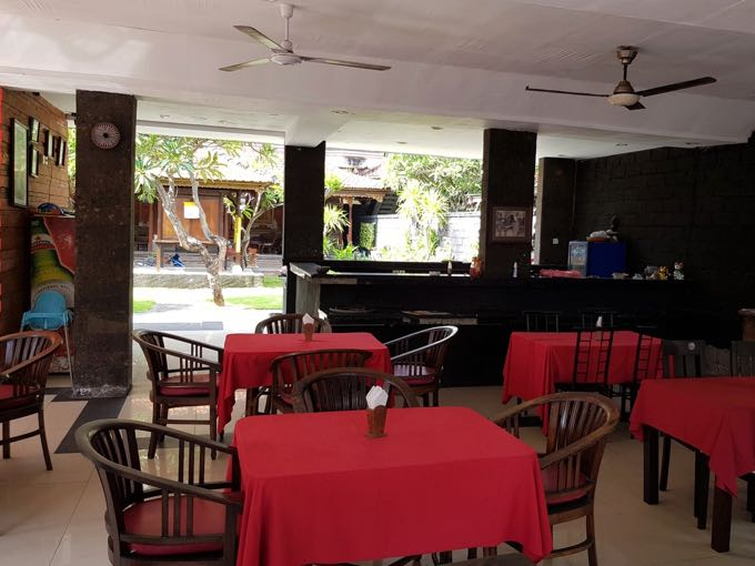 Bagus Resto & Bar is also on the access street.