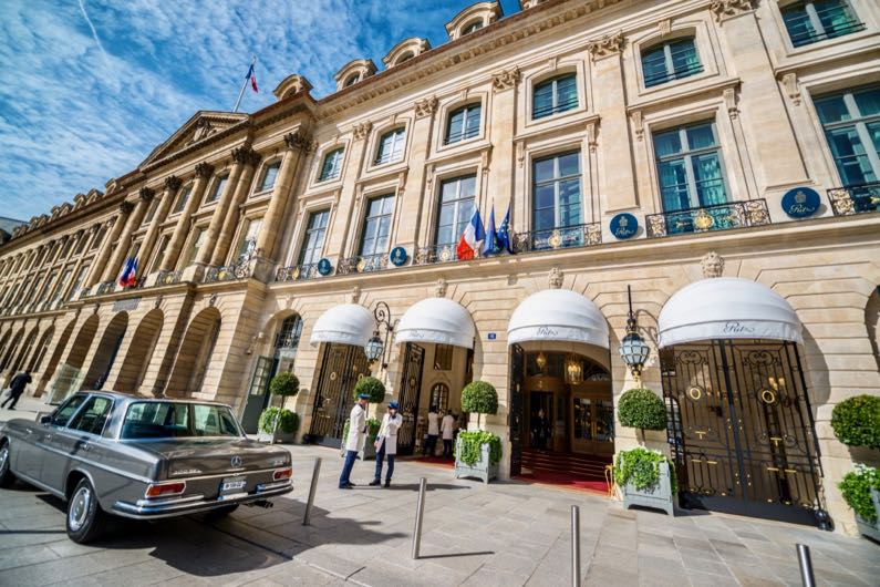 What is the best 5-star hotel in Paris?