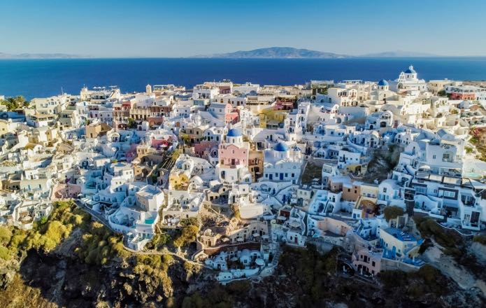 Helicopter Tours of Santorini Caldera and Volcano