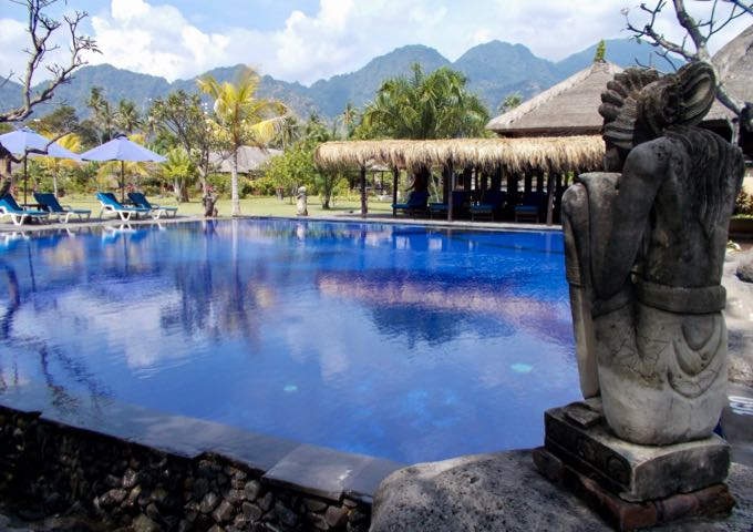 Review of Amertha Bali Villas in Bali.