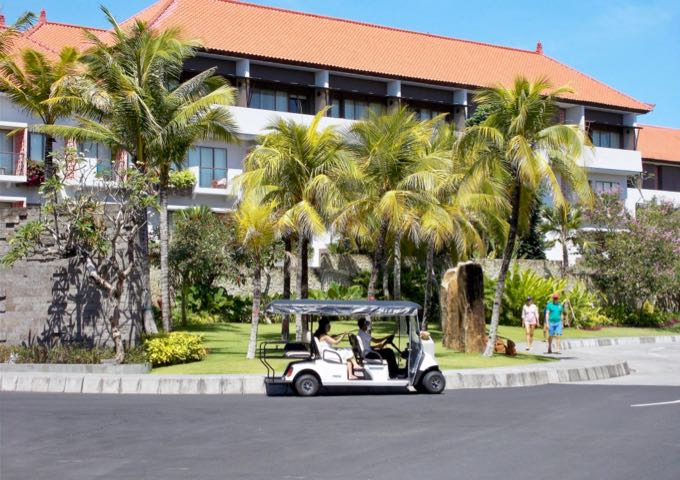 The resort is very quiet as it is set away from the main road.