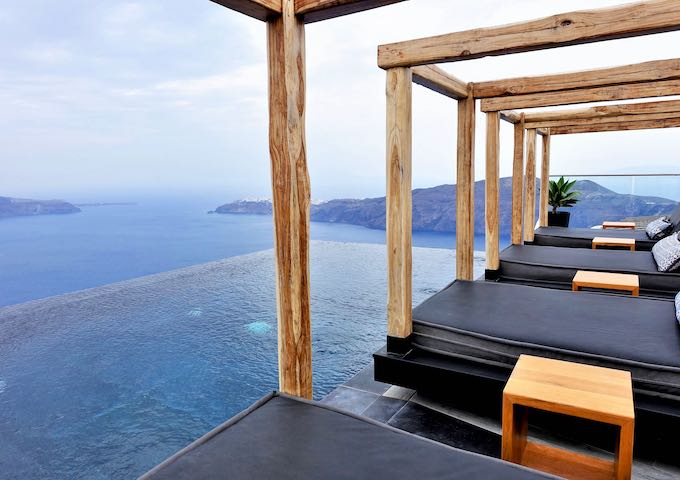 Galaxy Suites in Santorini