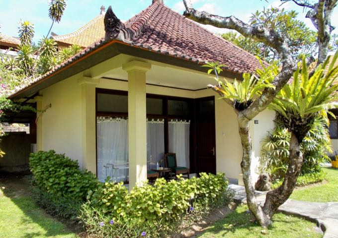 The cute Classic Suite Bungalows have a traditional design.