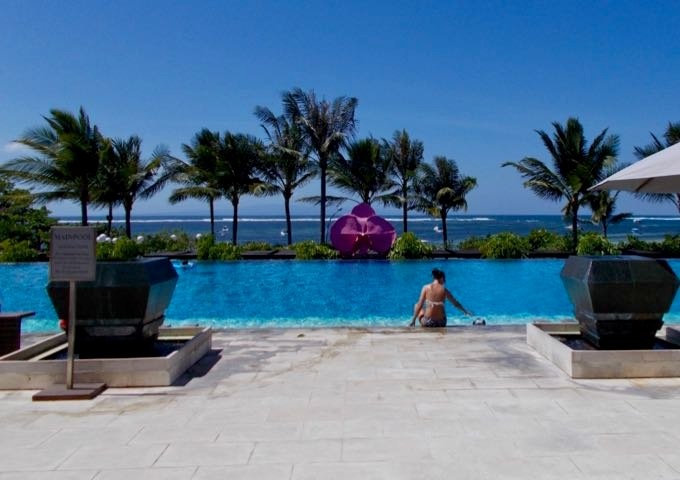 Review of Fairmont Sanur Beach Bali in Sanur, Bali.