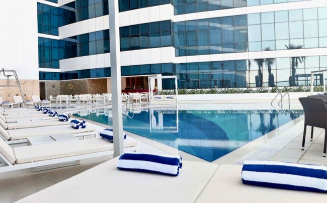 Good affordable hotel with pool in Dubai.