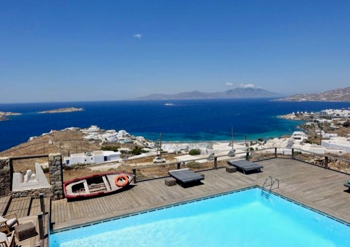 Review of Tharroe of Mykonos in Mykonos, Greece.