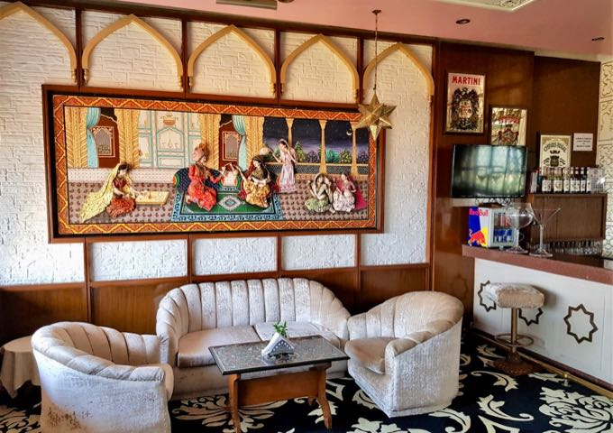 The Mughal Room bar is next door.