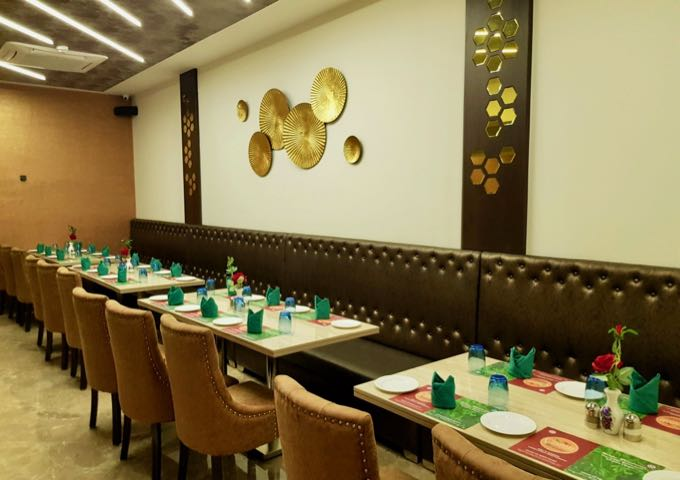 Culinary Junction by Udupi nearby serves good South Indian food.