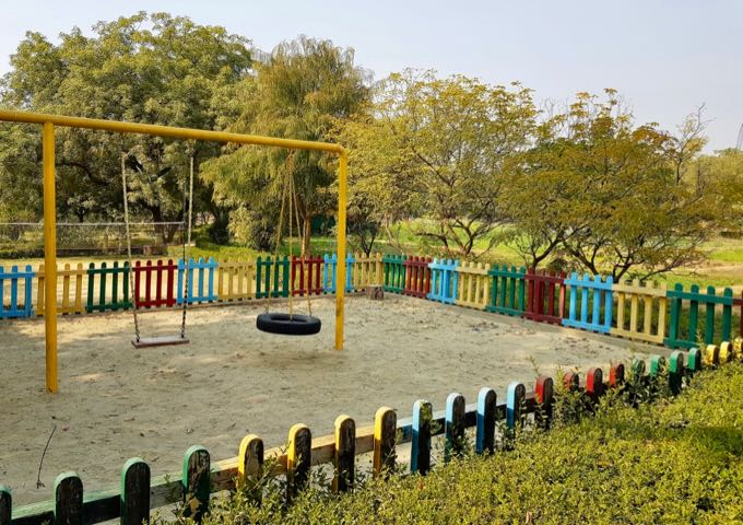 The modest playground is better than what rivals offers in the city.