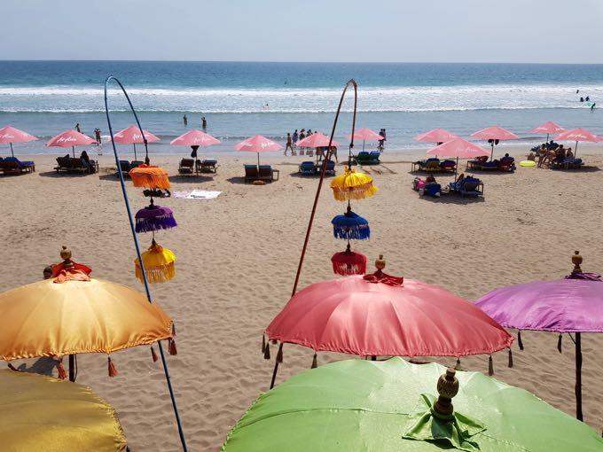 La Plancha nearby is a pleasant beachside cafe/bar.