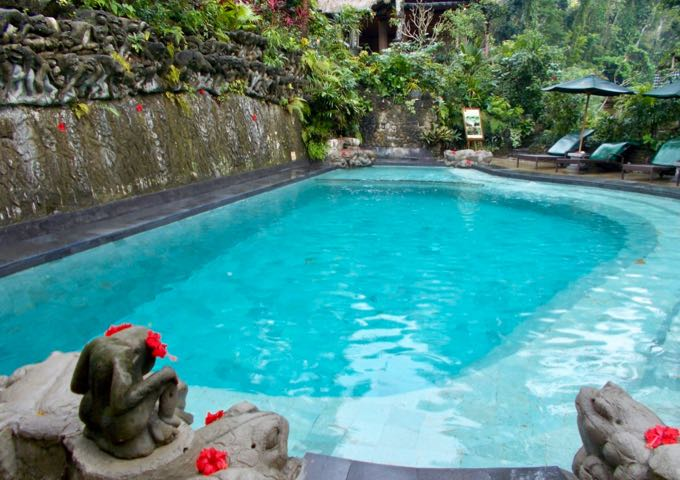 Review of Hotel Tjampuhan & Spa in Ubud, Bali.