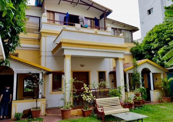 The guesthouse is housed in a century-old colonial bungalow.