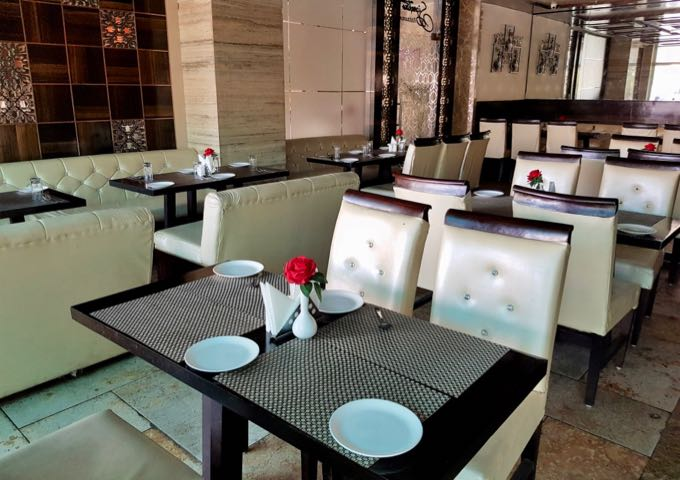 Signature Restaurant is located next to the Atithi Guesthouse.