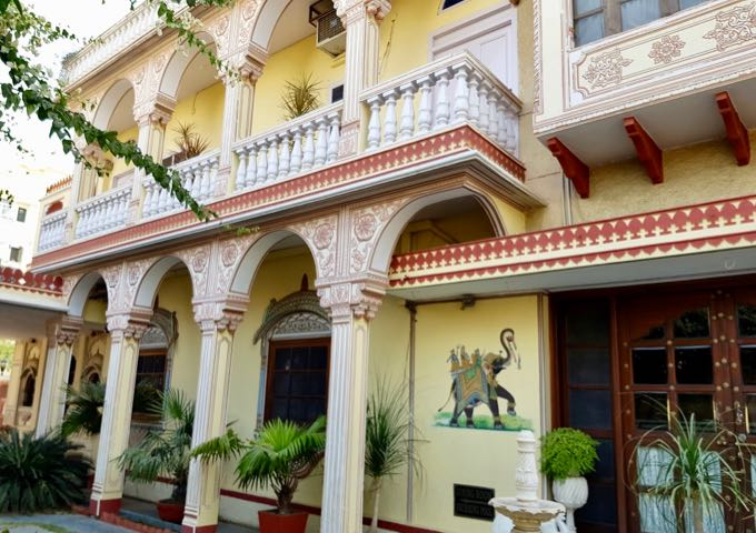Review of Hotel Madhuban in Jaipur, India.
