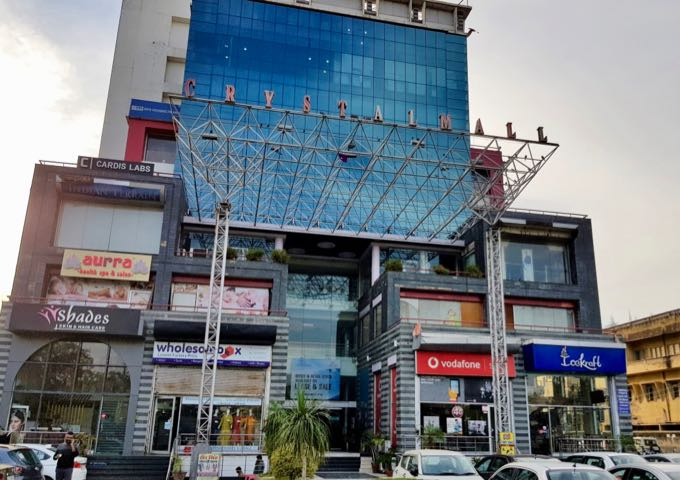 Crystal Mall is a modest shopping center within walking distance of the guesthouse.
