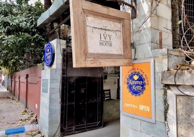Review of The Ivy House in Kolkata, India.