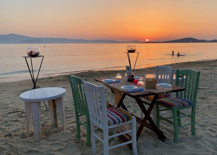 Best Tavernas in Naxos.