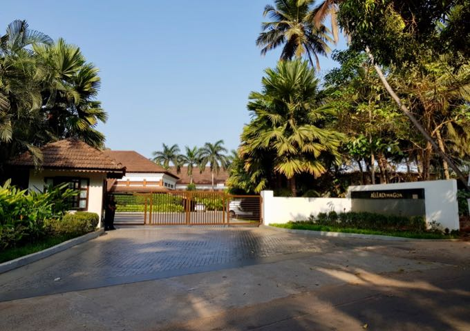 The resort is located in Majorda in southern Goa.