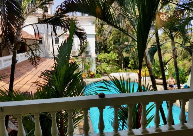 Suites Rooms have large balconies, most with pool views.