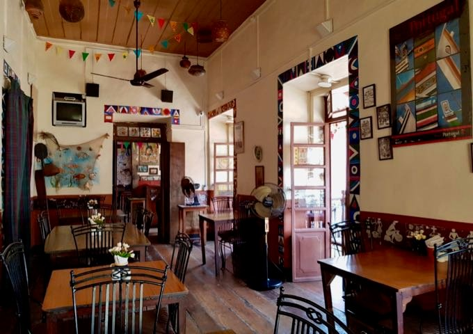 The historic Venite Bar & Restaurant nearby is charming and spacious.