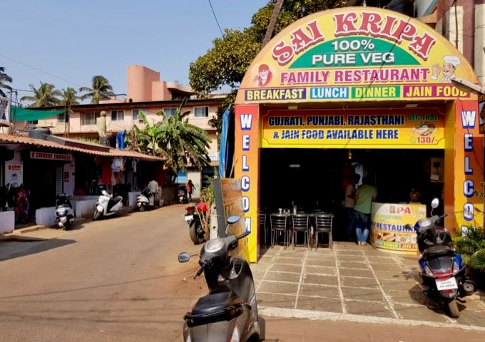 Sai Kripa restaurant is located close by.