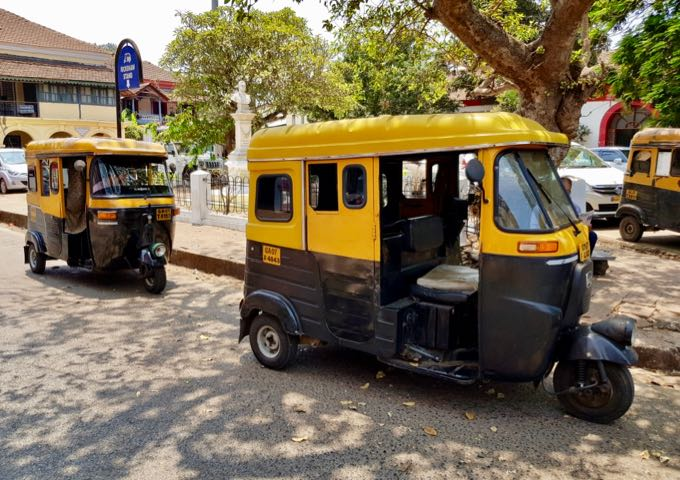 Auto-rickshaws are easily available in this area.