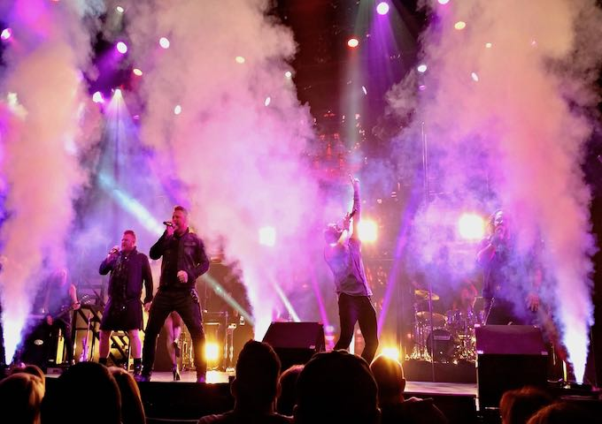 Tenors of Rock, the Best Vocal Group Show in Las Vegas