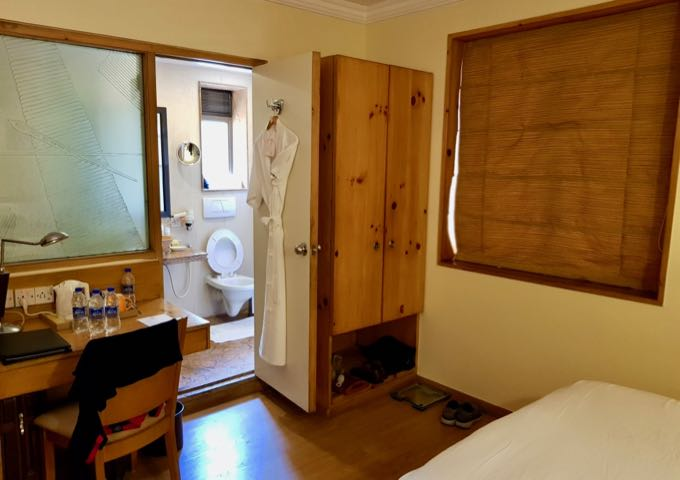 Spacious rooms at The Shalimar.