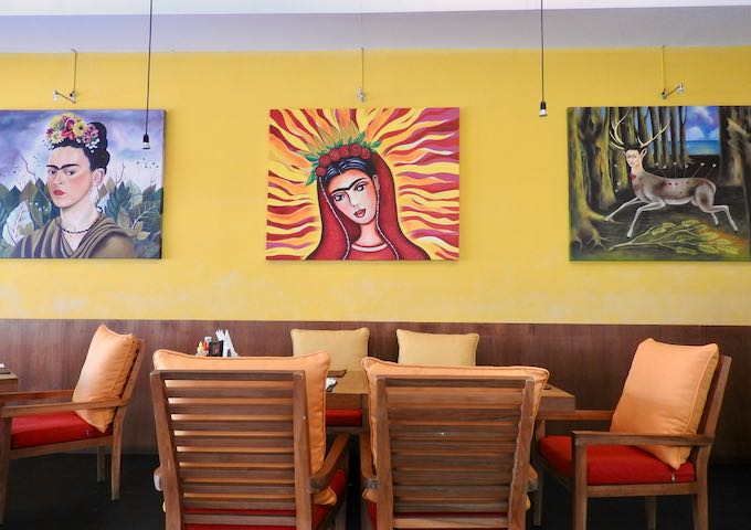 Sala Mexicali serves delicious and authentic Mexican food.