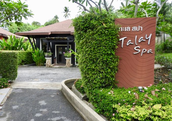 Talay Spa offers a good selection of treatments and massages.