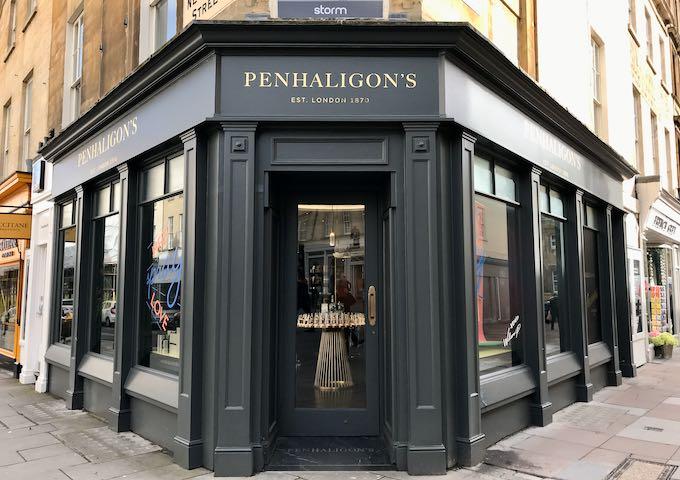 Penhaligon's is located on Milsom St.
