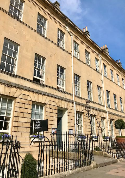 Review of No. 15 Great Pulteney in Bath, UK.