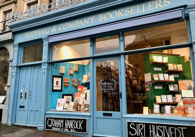 Topping & Company nearby is Britain's best independent bookshop.