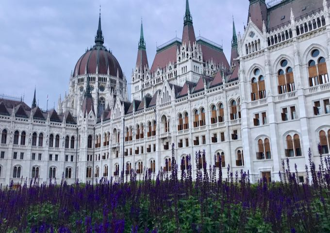 The Hungarian Parliament building is magnificent.