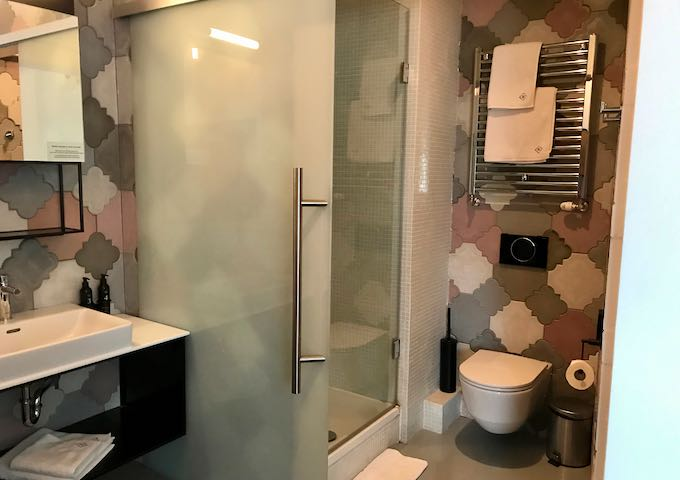 All bathrooms are unique in design and layout.