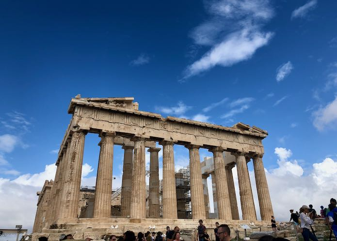 Itinerary for Athens, Greece.