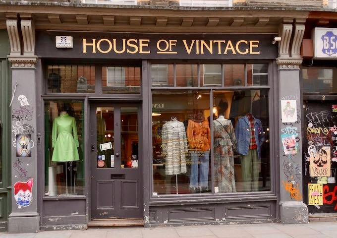 Cheshire Street is known for vintage clothes.