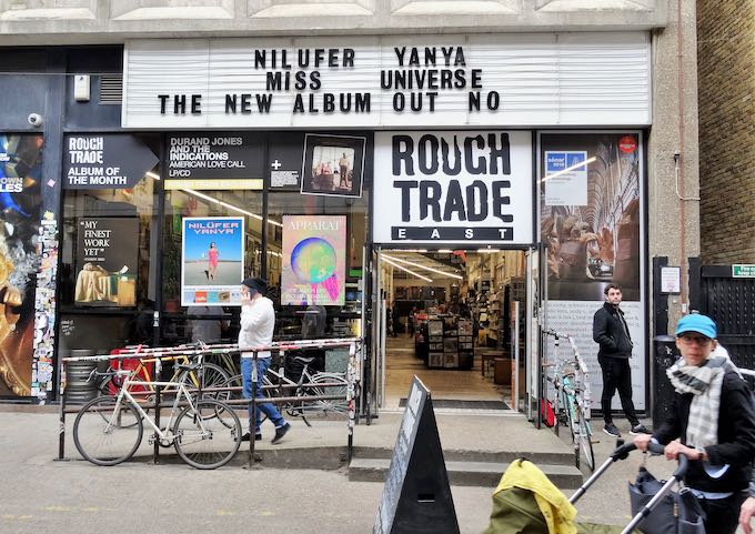 Rough Trade East is a legendary indie record label and store.