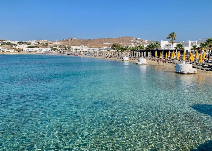 Itinerary for Mykonos in Greece.