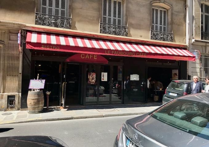 114 Faubourg is another Michelin-starred restaurant nearby.