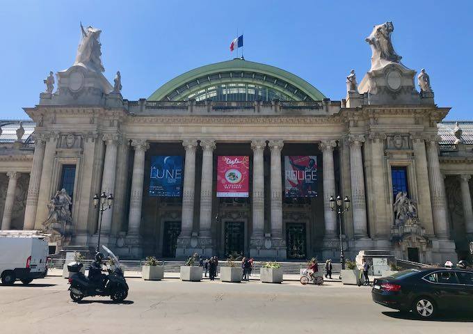 Grand Palais is worth the walk.
