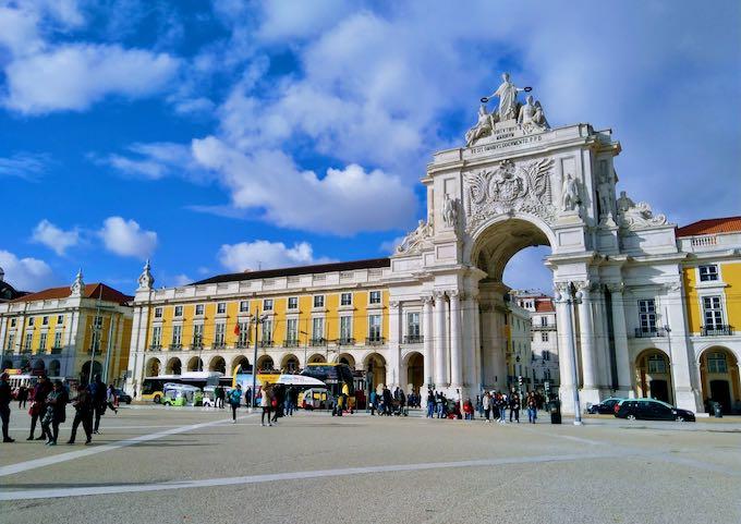 Praça do Comércio in Lisbon