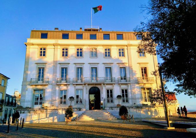 Verride Palácio Santa Catarina hotel in Lisbon.