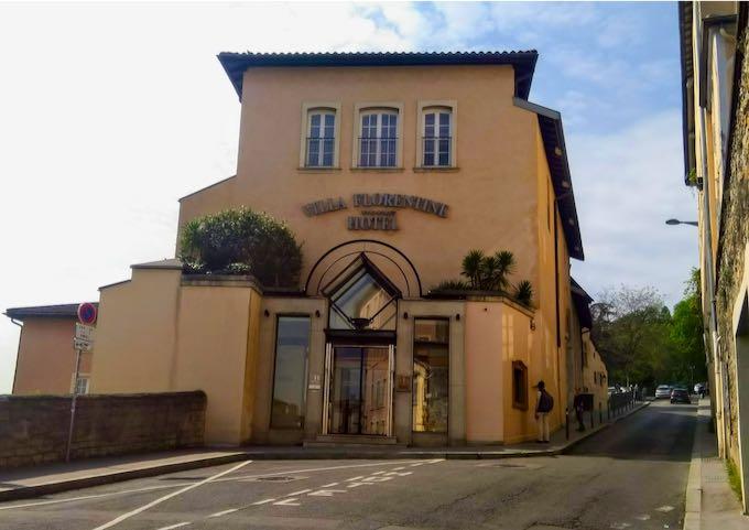 Villa Florentine Hotel in Lyon.