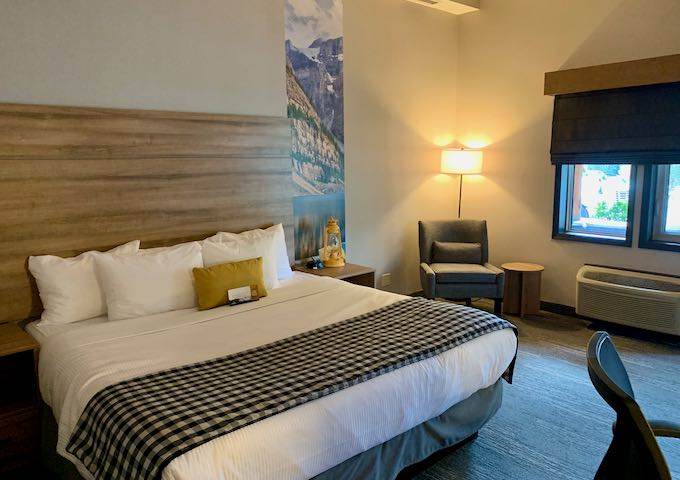 The Standard King rooms are very spacious.