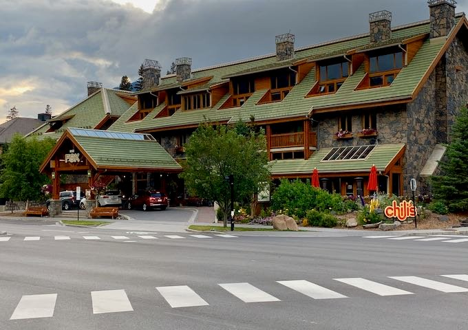 Review of Fox Hotel & Suites in Banff, Canada.